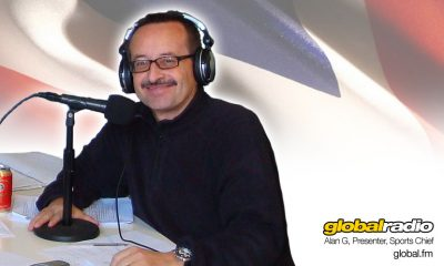 Alan G, DJ Presenter, Global Radio, Costa del Sol.