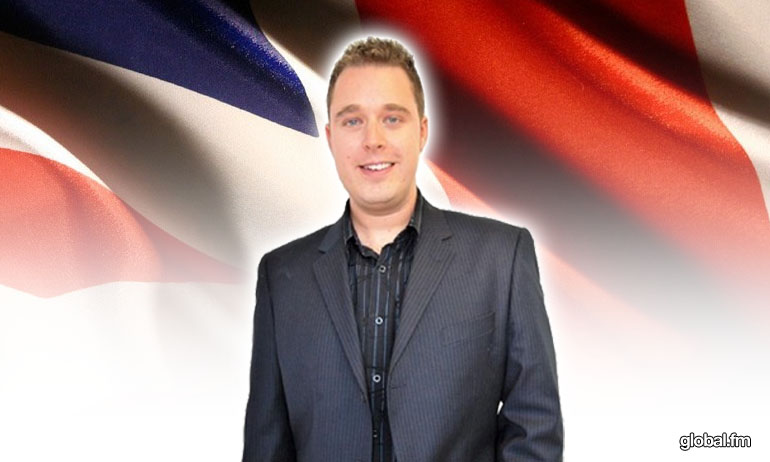 Dave James The Afternoon Show Global Radio 936 & 964 fm Costa del Sol.