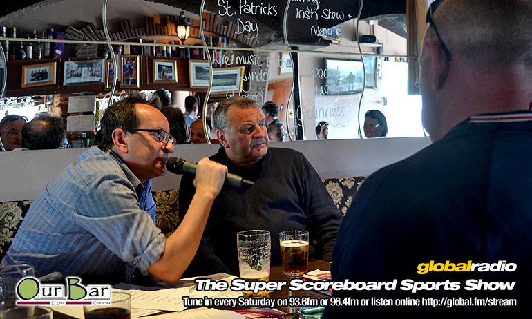 Global Radio Costa del Sol Super Scoreboard Sports Show