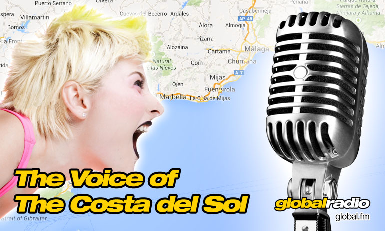 Global Radio, Your English Speaking Voice on the Costa del Sol.