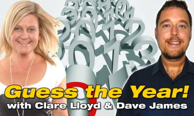 Guess the Year with Clare Lloyd and Dave James 936 Global Radio Costa del Sol Spain