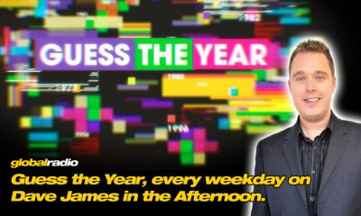 Guess the Year with Dave James in the Afternoon on Global Radio.