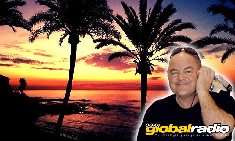 Mark Peters. Presenter and DJ, 93.6 Global Radio, Costa del Sol.