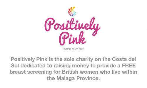 Positively Pink. Breast Cancer Awareness, Costa del Sol.