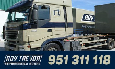 Roy Trevor Removals, International Domestic Home Removals, UK and Spain.