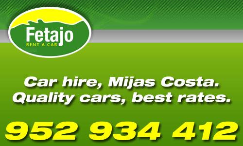 Fetajo Rent a Car, Malaga.