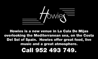 Howie's Music Bar and Grill, La Cala de Mijas.