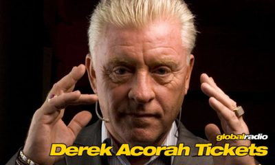 Win Derek Acorah Tickets, Global Radio Costa del Sol.