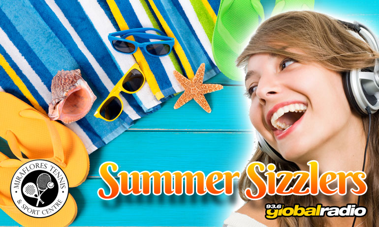 Summer Sizzlers from 93.6 Global Radio, Costa del Sol