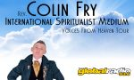 Colin Fry psychic medium live show on the costa del sol in Benalmadena and Gibraltar