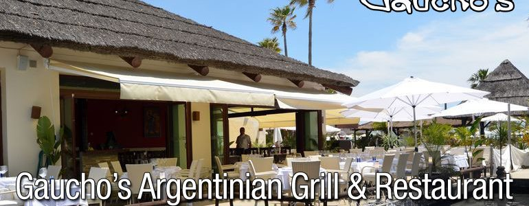 Gaucho's Argentinian Grill and Restaurant.