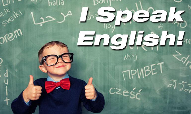 Image result for I Speak English