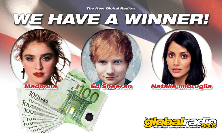 The New Global Radio's €1,000 Triple-Play has a WINNER!