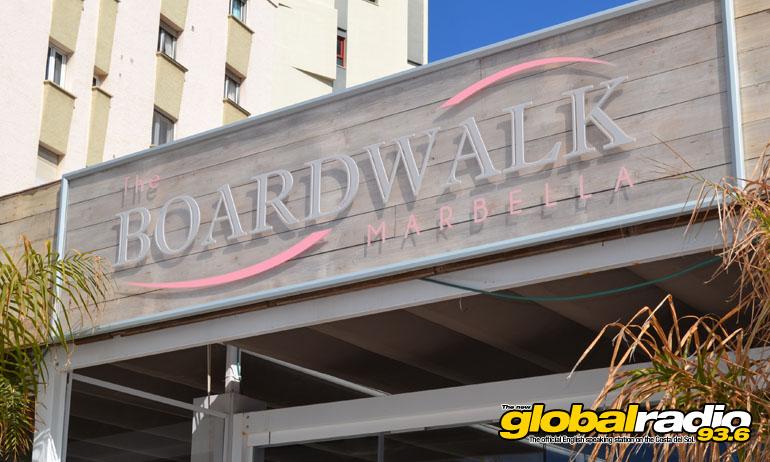 The boardwalk on the paseo in marbella global radio - Boardwalk marbella ...