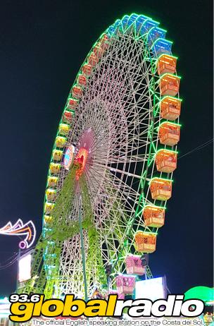 Malaga Feria Wheel