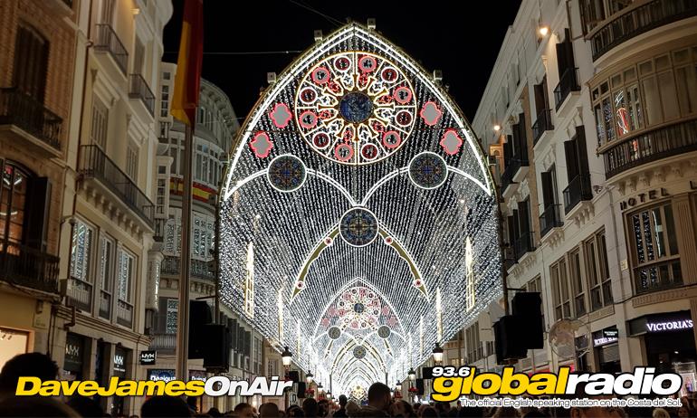Malaga Christmas Lights 2018