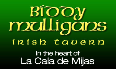 Biddy Mulligan's Irish Bar La Cala de Mijas Advert
