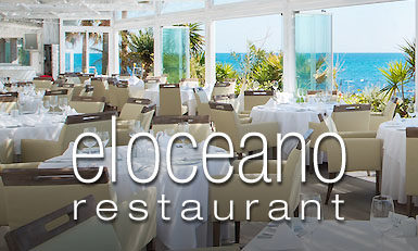 El Oceano Restaurant between Marbella and La Cala de Mijas