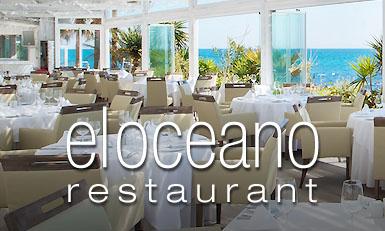 El Oceano Restaurant between Marbella and La Cala de Mijas