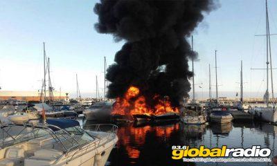Marbella Boats Burning