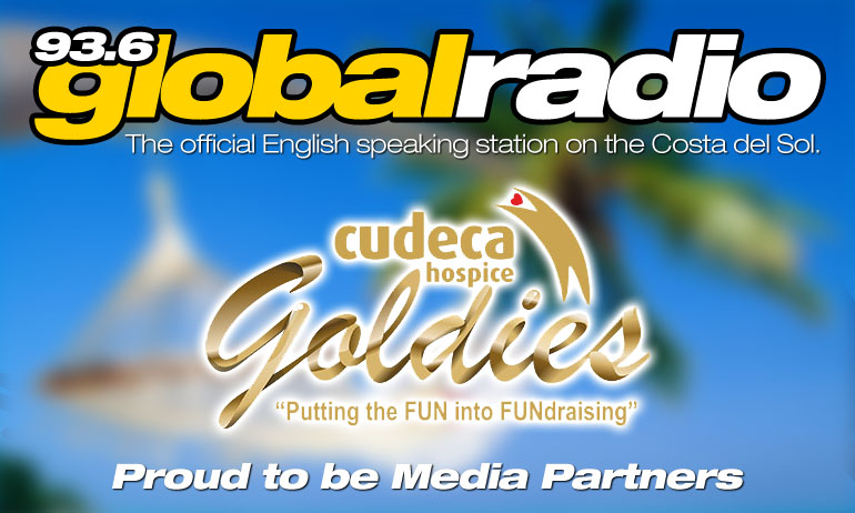 Cudeca Goldies and 93.6 Global Radio Media Partnership