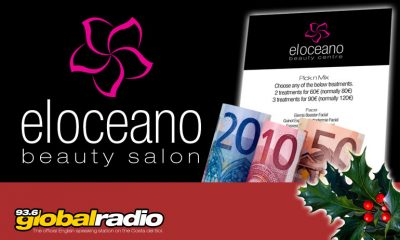 12 Days of Christmas Competition El Oceano Beauty Salon 93.6 Global Radio Costa del Sol