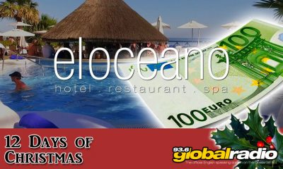12 Days of Christmas Competition, El Oceano Hotel and Restaurant - 936 Global Radio, Costa del Sol