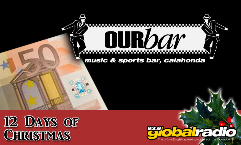 12 Days of Christmas Competition, Our Bar Calahonda - 936 Global Radio, Costa del Sol