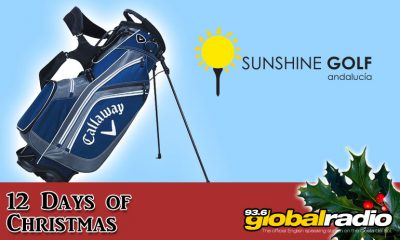 12 Days of Christmas Competition Sunshine Golf La Cala 936 Global Radio Costa del Sol