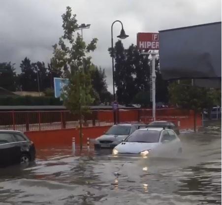 Flooding in Las Lagunas