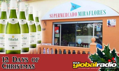 Miraflores Supermarket 12 Days of Christmas Compeition from 93.6 Global Radio