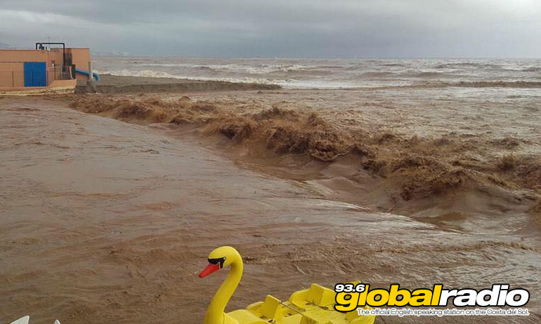 Flooding in Fuengirola by Sally Clarke
