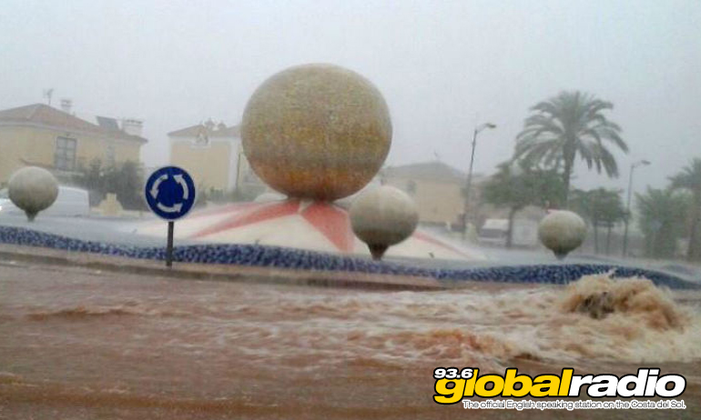 Flooding in Alhaurin De La Torre