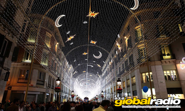 Christmas Lights Shows In Malaga Cancelled Today