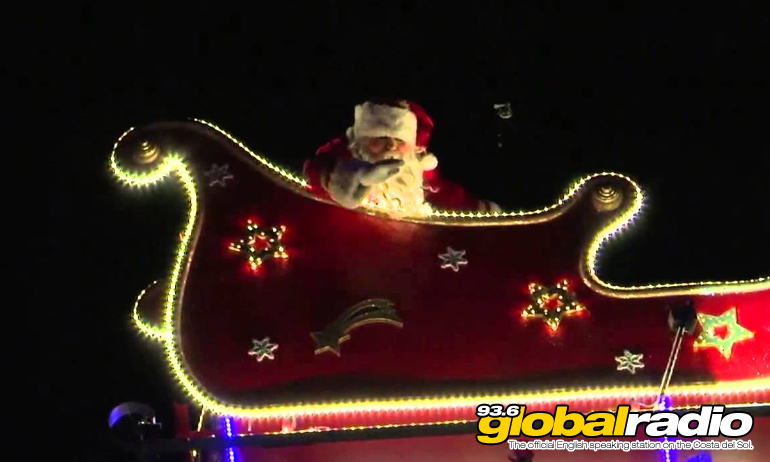 See Santa's Flight Path