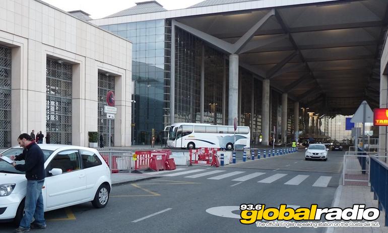 Malaga Airport Drop Off Closed