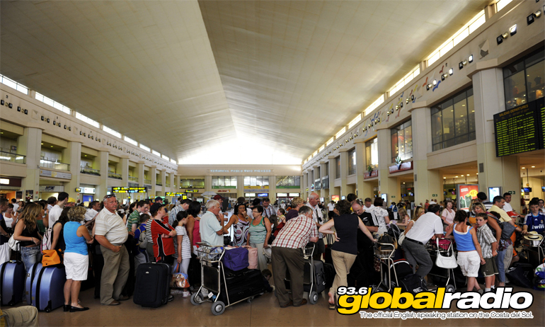Four Day Strike Causes Delays at Malaga Airport