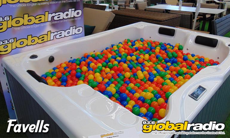 Win A Favells Hot Tub
