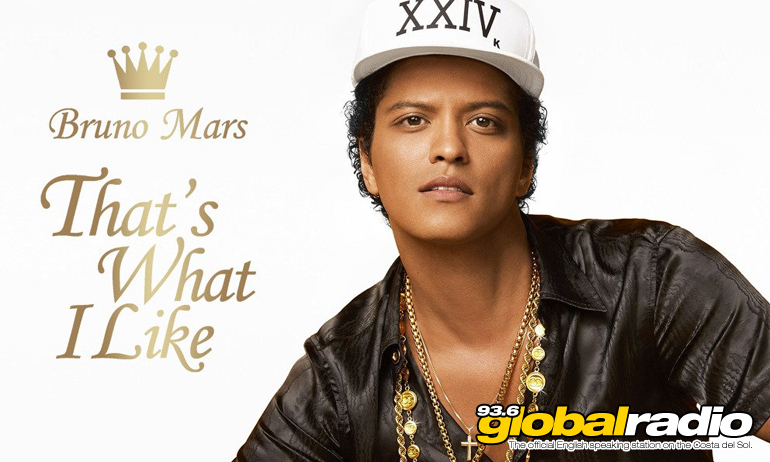 Bruno Mars, That's What I Like