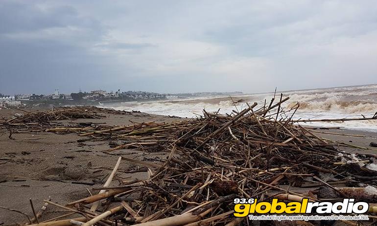 Coastline Battered By Storms