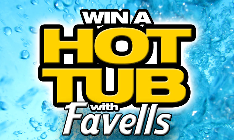 Win a Hot Tub - Costa del Sol Competition, 93.6 Global Radio and Favell's Fuengirola.