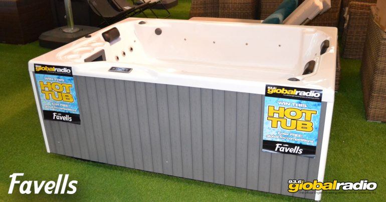 Win a Hot Tub from Favells Garden Furniture Fuengirola - Costa del Sol Competition, 93.6 Global Radio 01