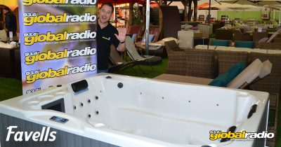 Win a Hot Tub from Favells Garden Furniture Fuengirola - Costa del Sol Competition, 93.6 Global Radio 02
