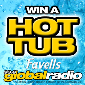 Win a Hot Tub with Favell's Garden Furniture Fuengirola - Another Costa del Sol Competition from 93.6 Global Radio!