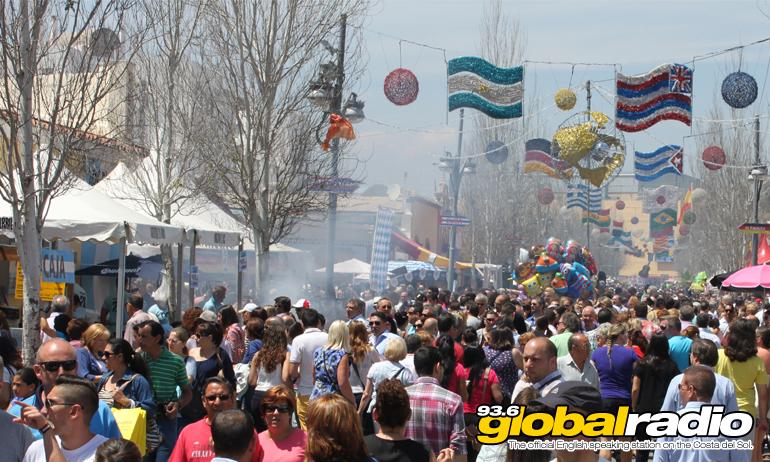 No British Booth At The Fuengirola Feria