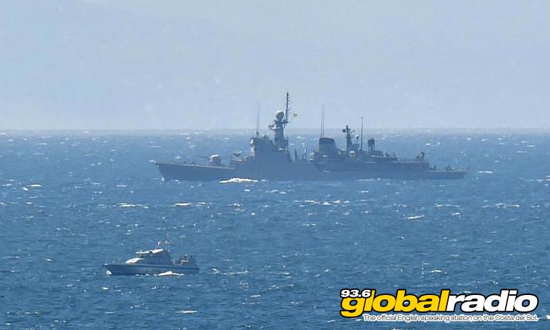 HMS Scimitar And Infanta Cristina