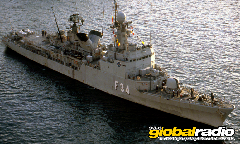 Spanish Warship Told To Leave British Gibraltar Territorial Waters
