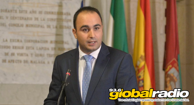 Mario Cortes at Malaga Town Halll