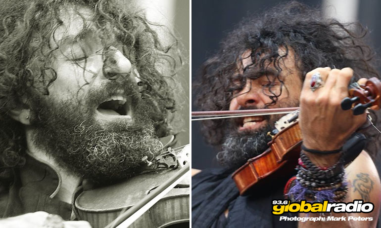 Sting was supported by Spanish violinist, Ara Malikian