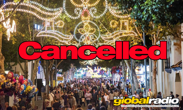 Torremolinos Feria Cancelled